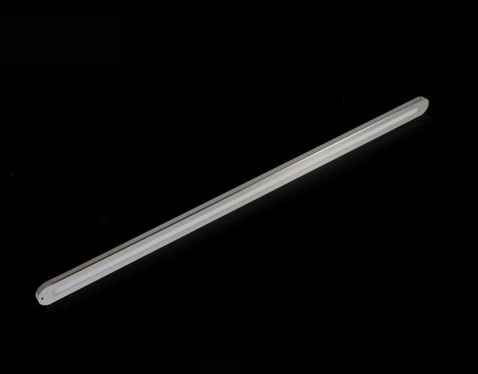 Ofis Ic Mekan LED Aydinlatma - 6 - Radius Lineer siva ustu koridor